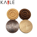 Professional Customized Wooden Backgammon Chips Pieces