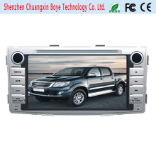 Reproductor de DVD de coche Navegación GPS para Toyota Hilux