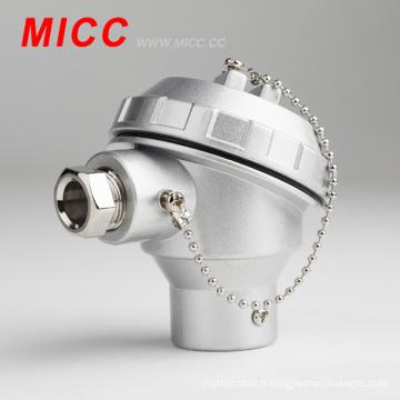 Tête de thermocouple KNC / borniers à thermocouple