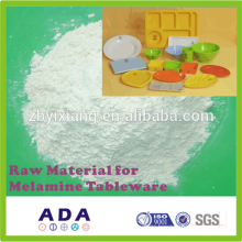 Raw material for melamine cup set