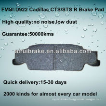 D922 Brake Pad for Cadillac STS 2005-2006 R