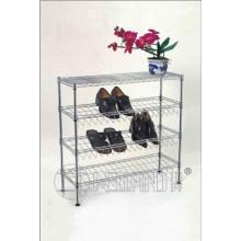 4 Schichten Eisen DIY Haushalt Schuh Rack Organizer (CJ-C1120)