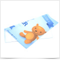 Digital Transfer Printing Microfiber Baby Wipes