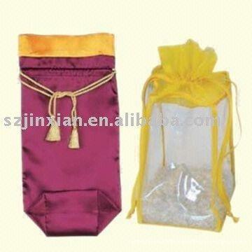 Colourful bag holder