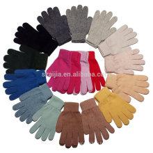 Женская красочная трикотажная акриловая перчатка
