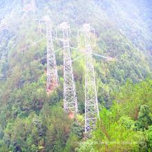 Torre de transmisión de energía de hierro de rotación de 220 kV