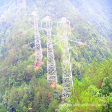 220kV Rotation Iron Power Transmission Tower