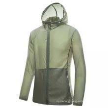 Outdoor Nylon Hiking Trekking Sport Coats Light Waterproof Jackets