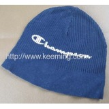 Single Beanie With Two Different Rib Needle Way