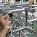 sistema de truss de aluminio, cercha de perno de la luz, truss espita para la demostración comercial, etapa, techo, torre