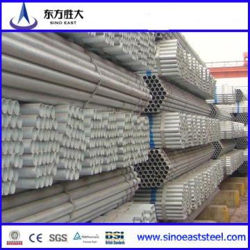 Tubería de acero cuadrada galvanizada soldada (construcción) 15 * 15-400 * 400