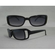 Promoción de diseño de moda negro gafas de sol P25044