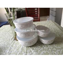 enamel ice bowl set & printed enamel bowls & hot selling cheap