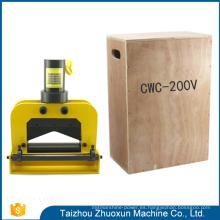 El diseño hermoso equipa el sacador de acero del CNC con la máquina hidráulica del proceso de la barra de distribución de los moldes de perforación