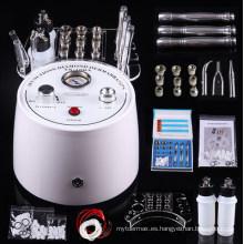 Powewful 3 en 1 Diamond Microdermabrasion Vacío Spray Peeling Cuidado de la piel Máquina de belleza