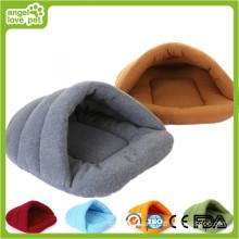 Algodão acolchoado pet cama saco de dormir do animal de estimação (hn-pH563)