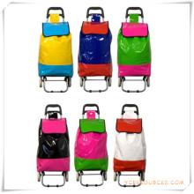 Bolso de la carretilla de las compras de dos ruedas para los regalos promocionales (HA82012)