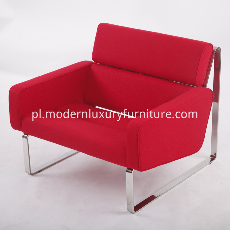Red Lounge Sofa