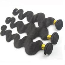 7A 100% Non Transformés Brésiliens Vierge Bundles Trame de Cheveux Humains Noir Corps Vague Ondulés Extension de Cheveux Humains Brésiliens Cheveux