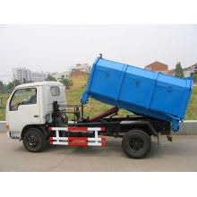 DFAC carga de basura y en camión de carga con lata (4 toneladas)