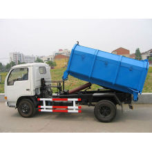 DFAC self trash load and in loading truck with can(4 tons)
