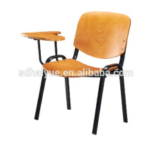 Los mejores muebles baratos de la escuela del marco del metal con apoyabrazos de la tableta