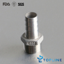 Stainless Steel Hose Nipple (Threaded pipe fittings)