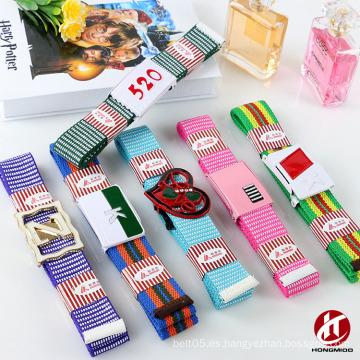 WenZhou PU Cinturón Fábrica Miss lona Tela de castidad tejido correa para la venta al por mayor