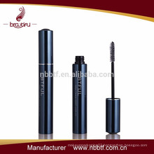 Black aluminum tubes for mascara cosmetics