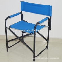Canvas folding metal director chair