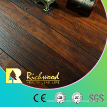 Vinyl 12.3mm Hand Scraped Parquet Wood Laminated Flooring