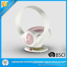 Venta caliente de alta calidad refrescante ventilador blanco sin cuchilla lado círculo rosa 2017