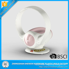 Hot selling high quality cooling white circle pink side bladeless fan 2017