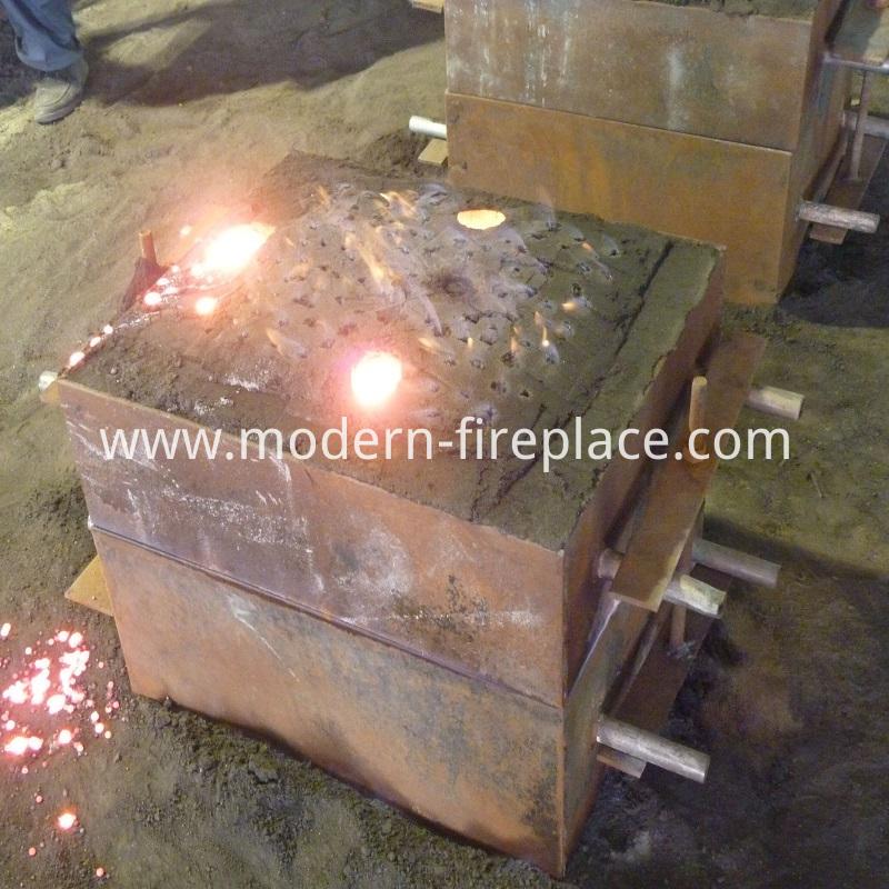 Wood Furnace Burning Production