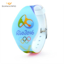 Custom logo rfid wristbands for events