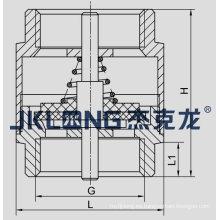 J5003-1 Válvula de retención de resorte de latón válvula de retención con muelle