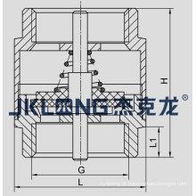 J5003-1 Válvula de retenção de mola de latão com mola