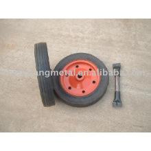 roda de borracha maciça 13 polegadas