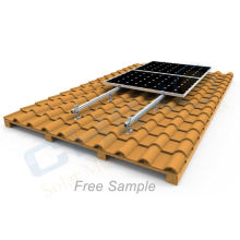 Solar pv aluminum structure mount rail hot sale for solar roof system
