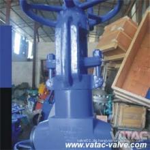 Hochtemperatur-Hochdruck 650 Grad Pn250 Bevel Butt geschweißte Globe Valve