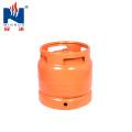 6kg steel LPG gas cylinder, gas tank