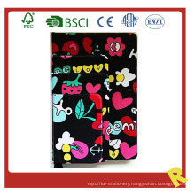 PU Hardcover Notebook with Nice Print