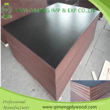 Hardwood Core 1220X2440X9mm Film Faced Construction Contreplaqué en coque étanche