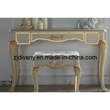 Estilo francés madera escritorio estudio sala escritorio (2403)