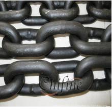 Cadena de elevación de enlace de acero En818-2 G80
