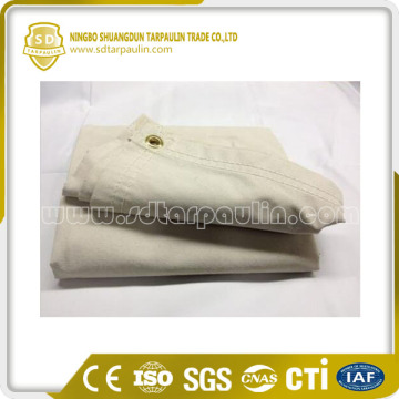Truck Tarp Double Stitched Hems Canvas Cotton Tarp