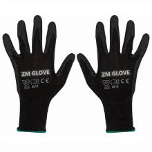 13 Gauge Polyester Shell Nitrile Dipped Gloves Sandy Grip Glove