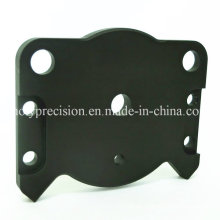 CNC Machined Aluminum Electrical Parts with Black Anodizing