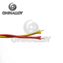 ANSI Standard Tipo K 2X0.5mm Seção Transversal Nicr / Nial Alloy Wire Termopar Extensão Cabo