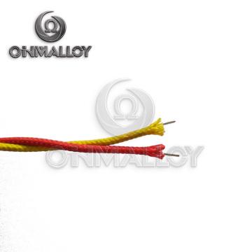 ANSI Стандартный тип K 2X0,5 мм Поперечное сечение Никр. / Ниаловый сплав с проволокой Удлинительный кабель термопары